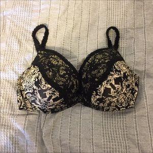 Kardashian Kollection Women/'s Pink Black Lace Details Slip /& Panties Set NWT